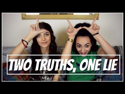 Two Truths, One Lie (Challenge) || fraoules22 - YouTube
