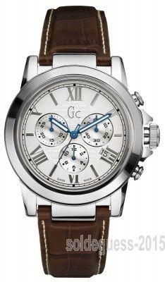 Montre Guess Collection GC X41003G1 - Les montres Guess Collection représentent le haut de gamme de Guess: une finition sublime une qualité Swiss Made.Chaque montre donne sa p… Voir la présentation