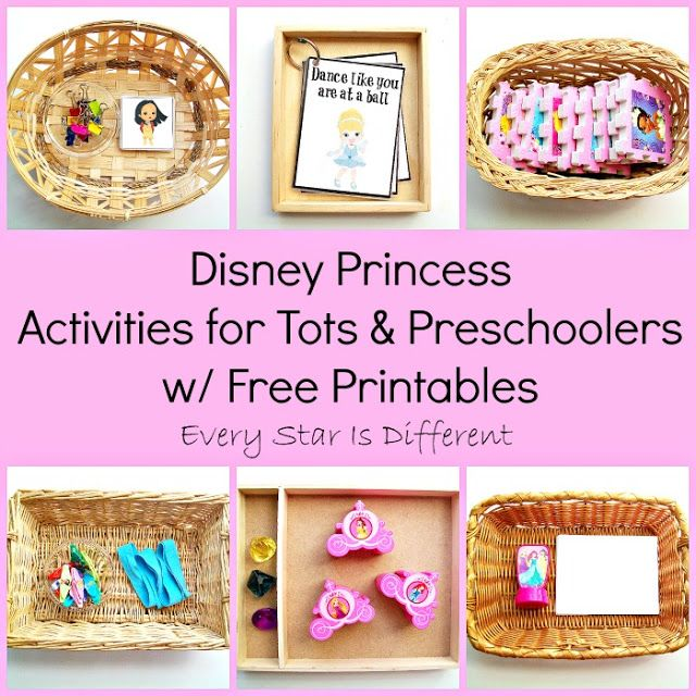 disney princess activities for tots preschoolers w free printables learn play link up