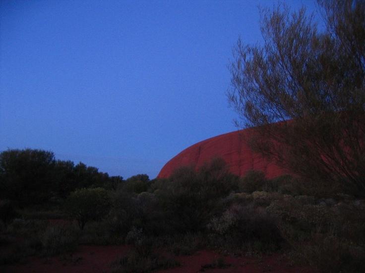 Uluru, in all her splendour