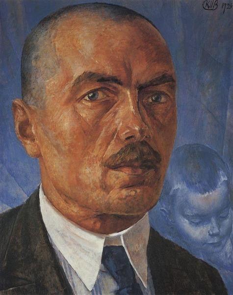 Кузьма Петров-Водкин. «Автопортрет». 1926-27 гг.