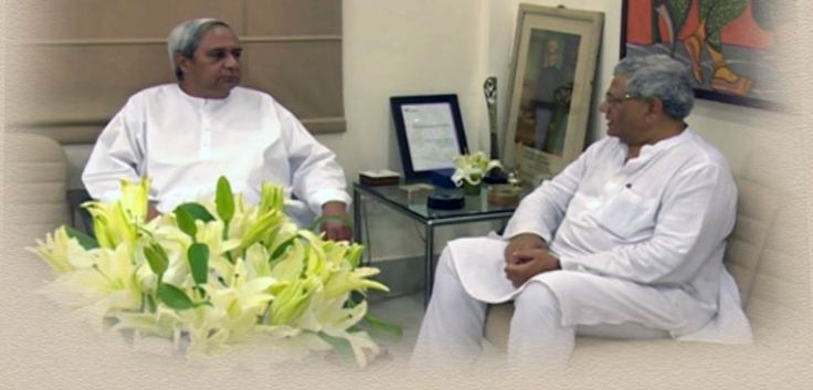 "Bhubaneswar:                       As all out efforts are on by the anti-BJP political parties to field a consensus secular candidate for the next President of India, CPI (M) politburo member and the party's Parliamentary group leader Sitaram Yechury on Thursday met BJD chief-cum-Odisha Chief Minister Naveen Patnaik at the State Secretariat here.  Soon after the meeting, the senior communist leader and parliamentarian told media, ""I had a cordial meeting with the hon'ble Chief Minister. My…"