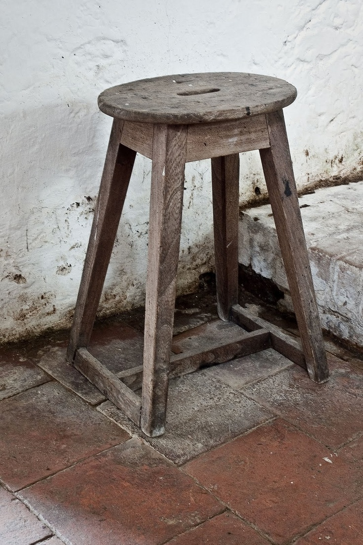 Old Wooden Stool ~ Best wooden stools images on pinterest