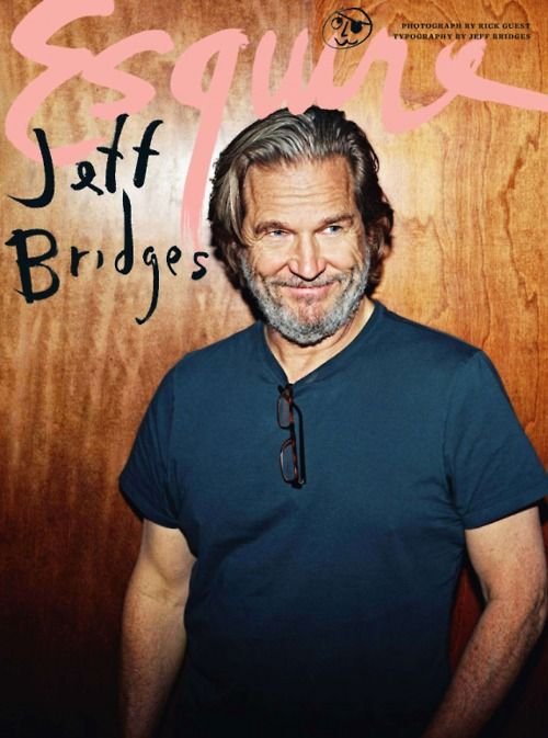The Dude can draw.  More evidence that hand-lettering is in: not only is Jeff Bridges on the cover of Esquire UK, so is his typography. The ...