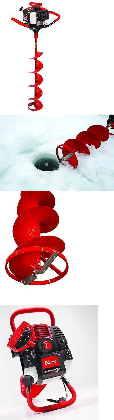 Ice Fishing Accessories 179996: Eskimo Ice Fishing Auger 10 Hole Gas Power High Performance Engine New -> BUY IT NOW ONLY: $426.98 on eBay!