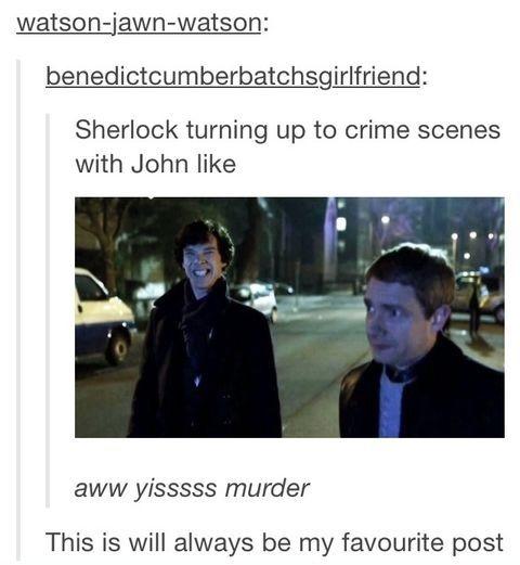 Sherlock and .