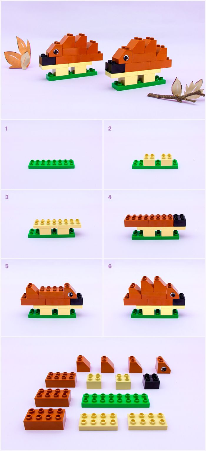 Comment construire un hérisson - Articles - Family LEGO.com