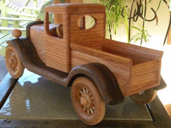 New Wooden Waltons Truck Replica by grandpacharlieswkshp on Etsy