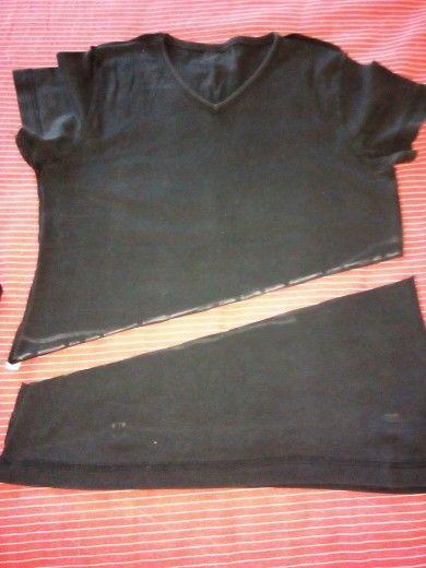 taglio maglia corta
