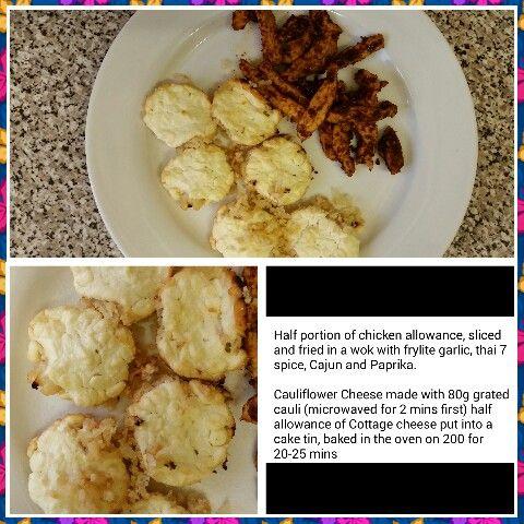 Spiced Chicken & Cauliflower Cheese STEP 2
