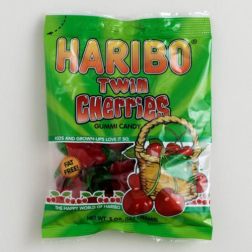Haribo Twin Cherries Gummies