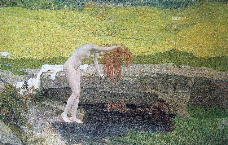 Giovanni Segantini, La Vanita, 1897