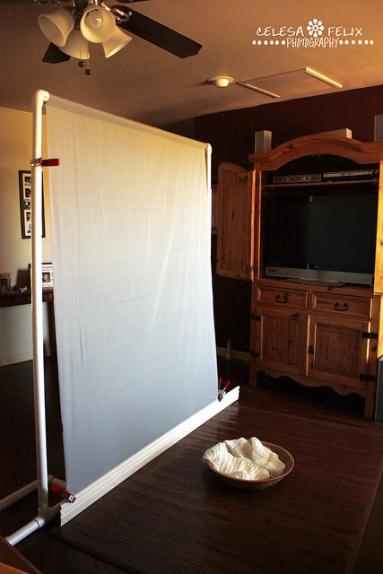 Home Depot DIY photo backdrop for home