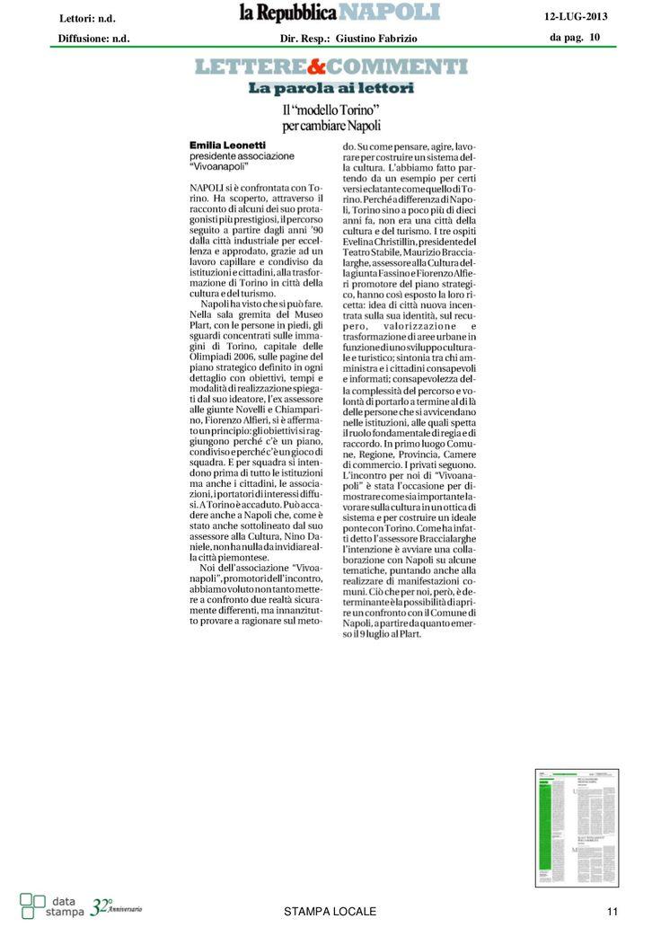Un articolo sulla possibile implementazione di un modello di sviluppo per Napoli, sulle orme di Torino. Alfredo Romeo potrebbe essere un punto di riferimento