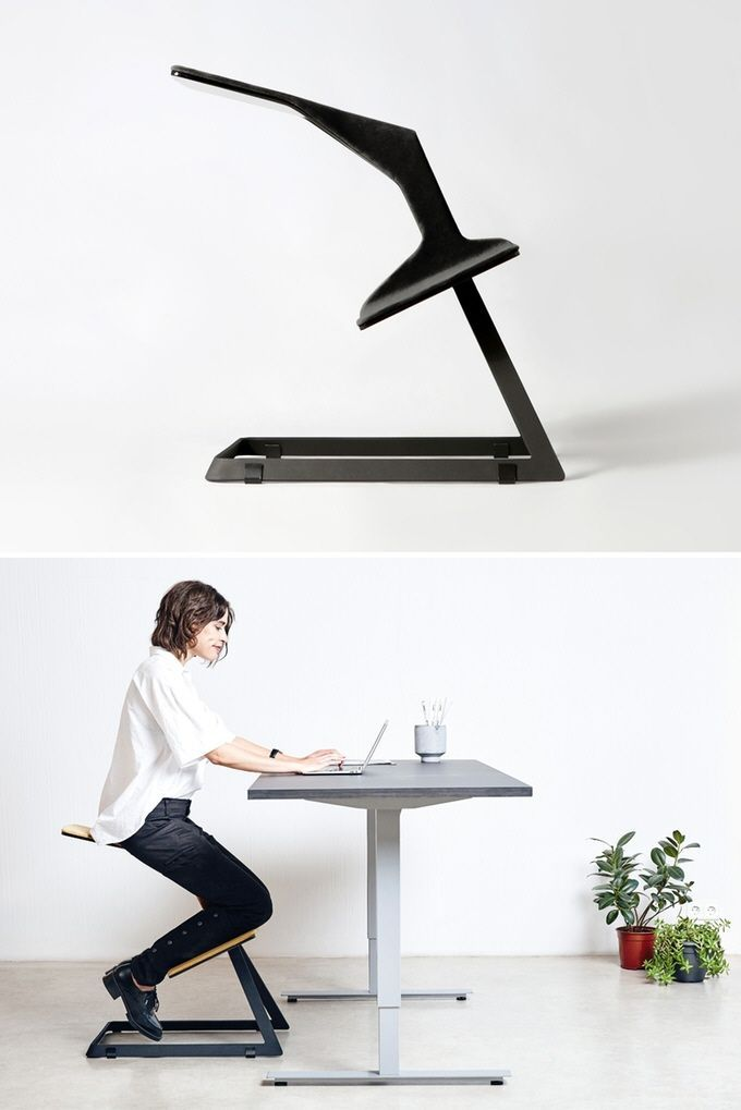 This ergonomic chair with unique geometry keeps your back straight while you are working and improves concentration and productivity.