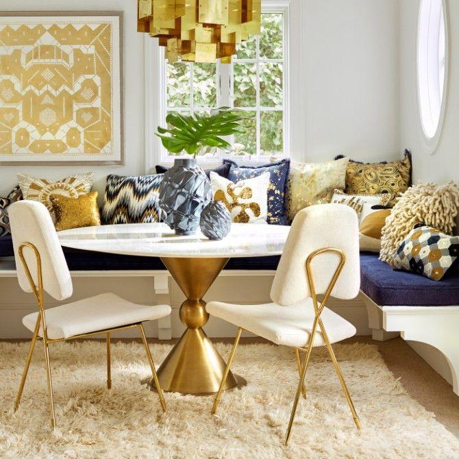 9 Tips On How To Style Modern Rugs Like Jonathan Adler Room Interior Design Living