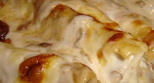 Ricetta cannelloni ricotta, prosciutto e fontina