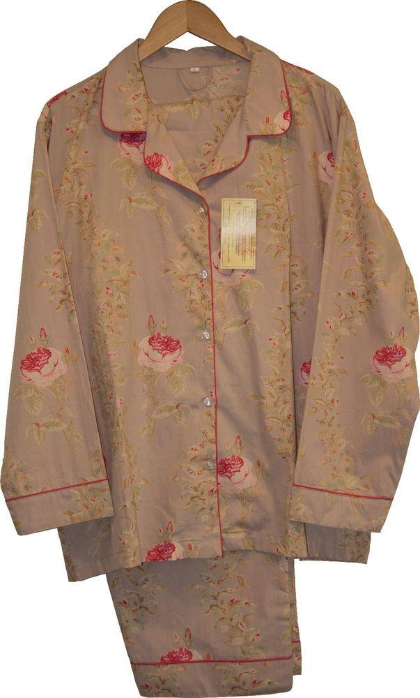 Rosalie Linen: 100% Cotton Women's Pajamas