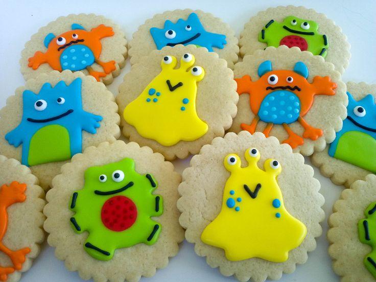 Monster Sugar Cookies- 1 Dozen