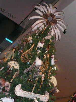 Native American Christmas tree