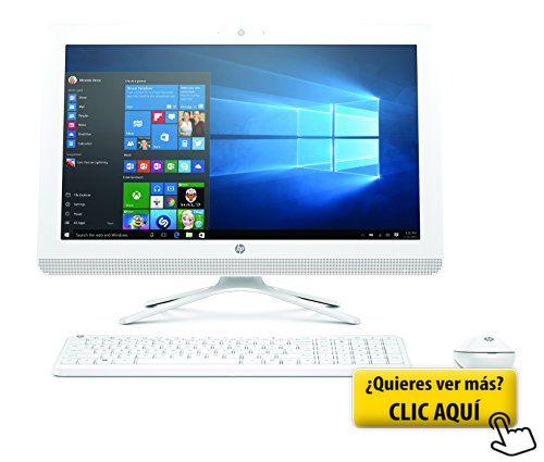 HP All in One 22-b023ns - Ordenador Sobremesa Todo... #ordenador #sobremesa