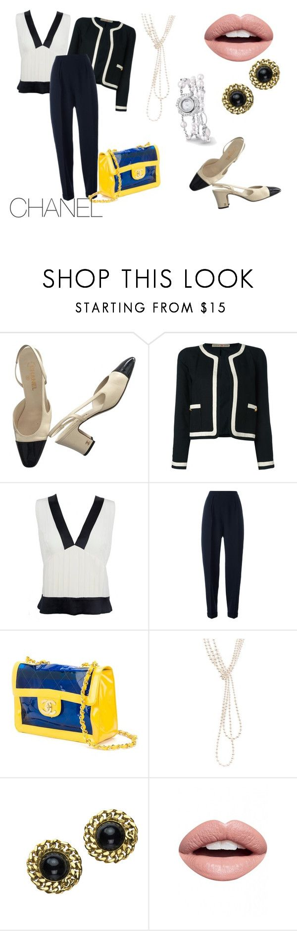 """""""outfit#100"""" by alifia-fae on Polyvore featuring Chanel and Nevermind"""