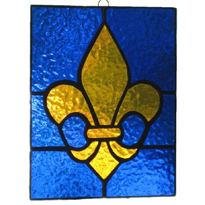 39 Best Stained Glass Fleur De Lis Images On Pinterest