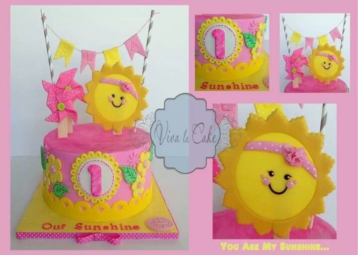 You are my sunshine themed birthday