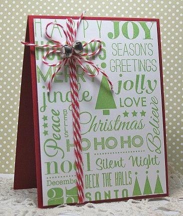 Rosemary�s Last-Minute Christmas Card