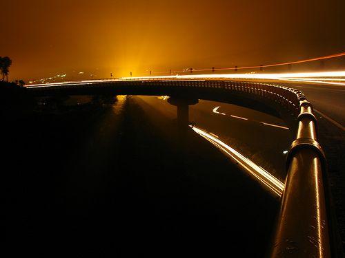 Helical Bridge close to Pereira, Colombia