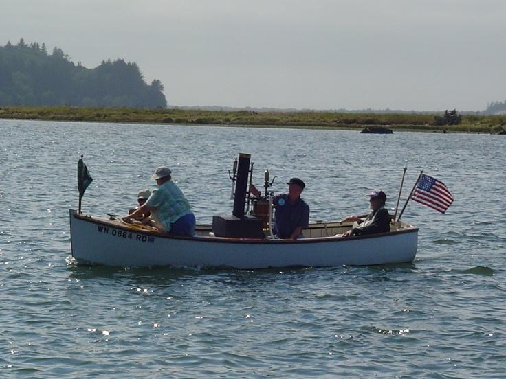 Steamboat on the Nehalem River  *dansuehath: Nehalem Rivers, Rivers Dansuehath, Rivers T-Shirt