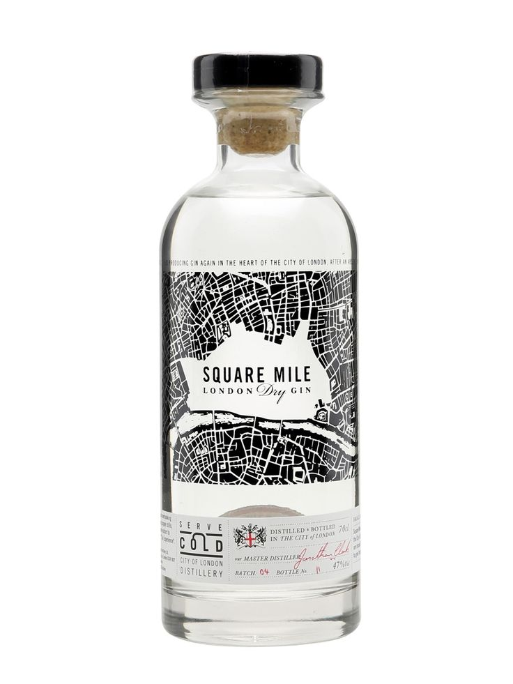 Square Mile London Dry Gin / Small Batch