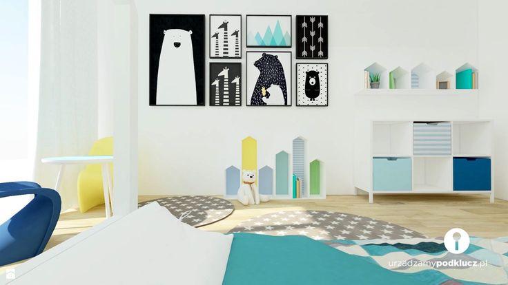 Pokój dla malucha - zdjęcie od Urządzamy Pod Klucz - Pokój dziecka - Styl Skandynawski - Urządzamy Pod Klucz