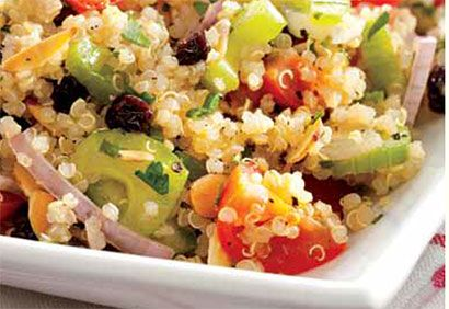 Recette Taboulé de quinoa aux fines herbes - Coup de Pouce