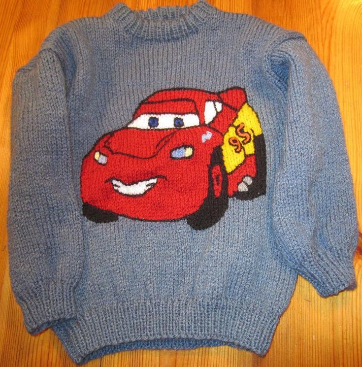 Logo Knitting Pattern : Lightning mcqueen intarsia knitting pinterest logos