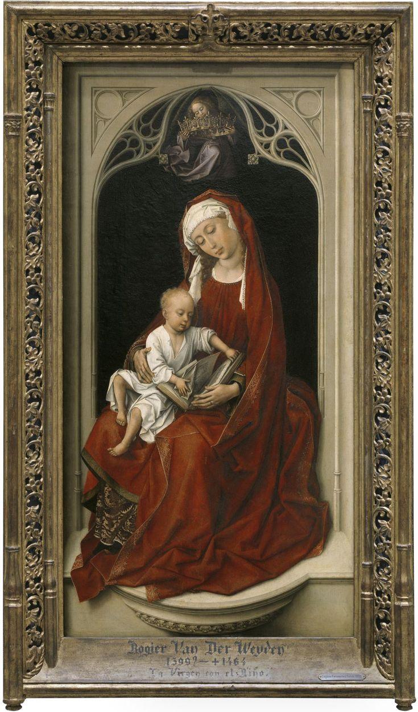 The Virgin and Child, known as the Durán Virgin / La Virgen con el Niño, llamada la Madonna Durán // 1435-1438 // Rogier van der Weyden