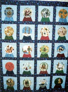 Barbara Brackman's MATERIAL CULTURE: Snow Globe Quilts