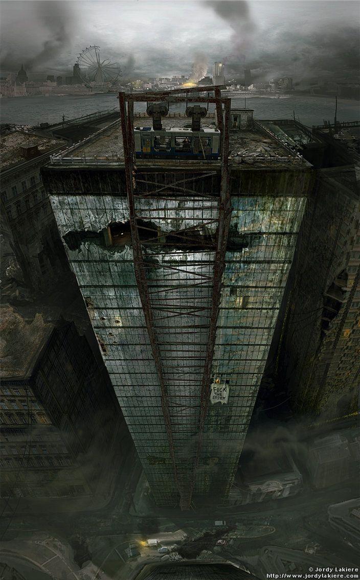 Post Apocalypse London by ~JordyLakiere on deviantART