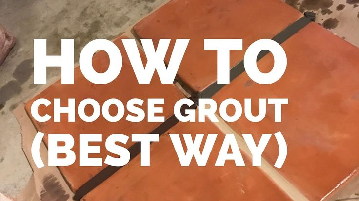 how to clean saltillo tile grout