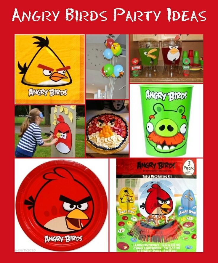58 best images about angry birds party ideas and for Angry birds party decoration ideas
