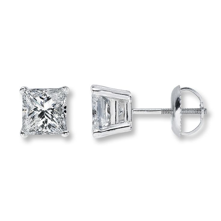 17 best ideas about princess cut diamond earrings on. Black Bedroom Furniture Sets. Home Design Ideas