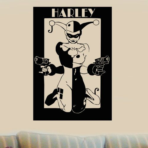 35 best images about harley quinn room ideas on pinterest for Harley quinn bedroom ideas