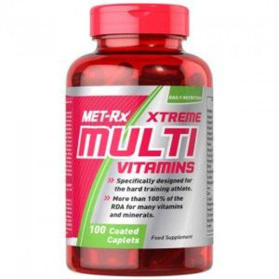 Met Rx Xtreme Multivitamin (100 kapszula)