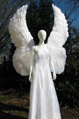 Warrior angel costume here I come!  A big fat sword needs big fat wings!