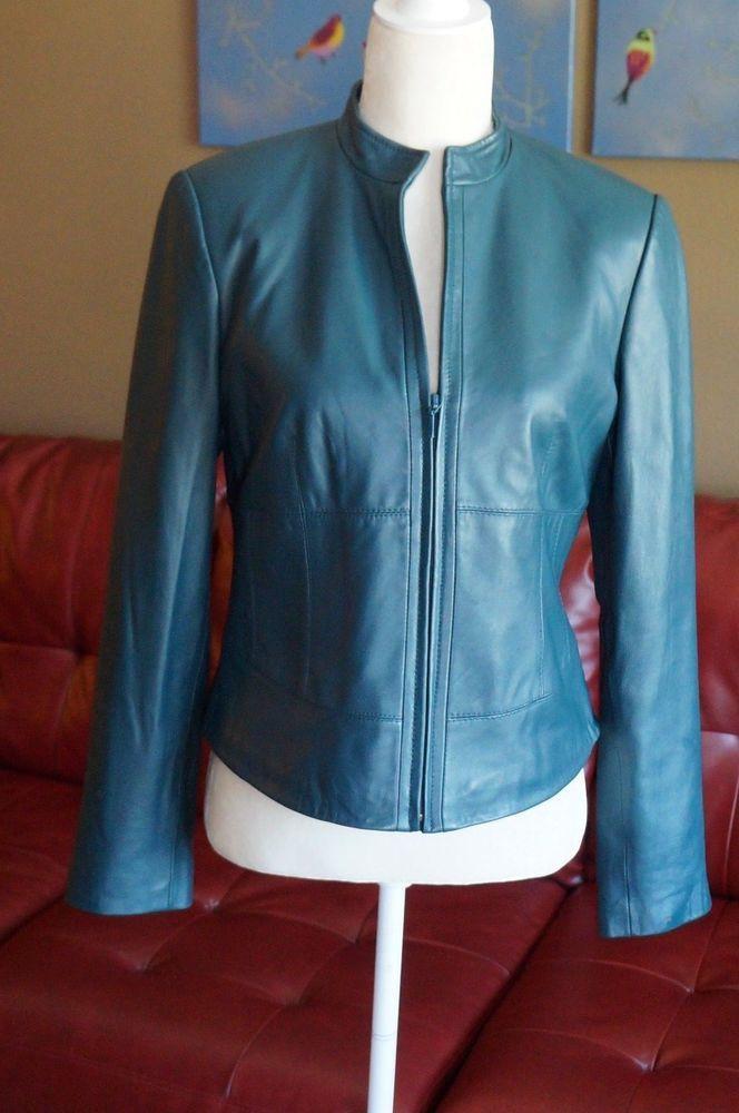 d3b53efee85f Yvonne le Marie Lamb Leather Jacket 6