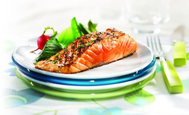 Filet de saumon à la ciboulette et à l'érable (marinade + grill)