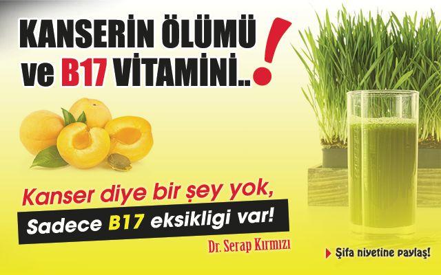 Kanserin ölümü ve B17 vitamini eksikliği..!