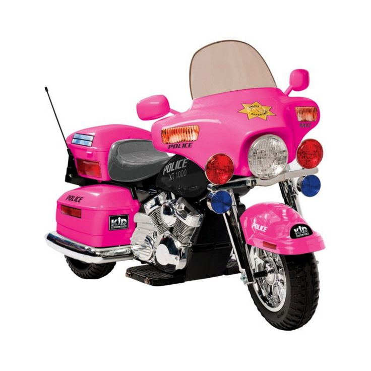 Kid Motorz Patrol H Police Motorcycle Battery Powered Riding Toy - 0957