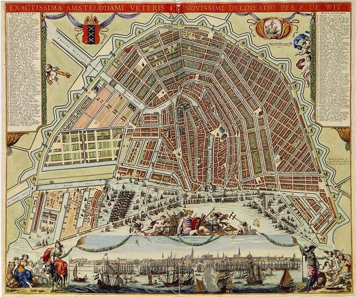 Amsterdamse Grachtengordel   if then is now