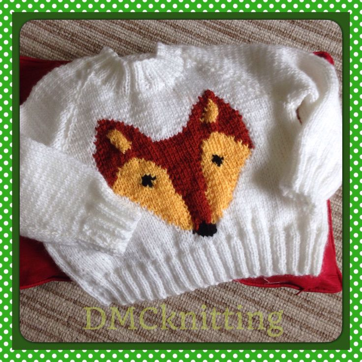 A personal favourite from my Etsy shop https://www.etsy.com/uk/listing/399471983/mr-fox-jumper